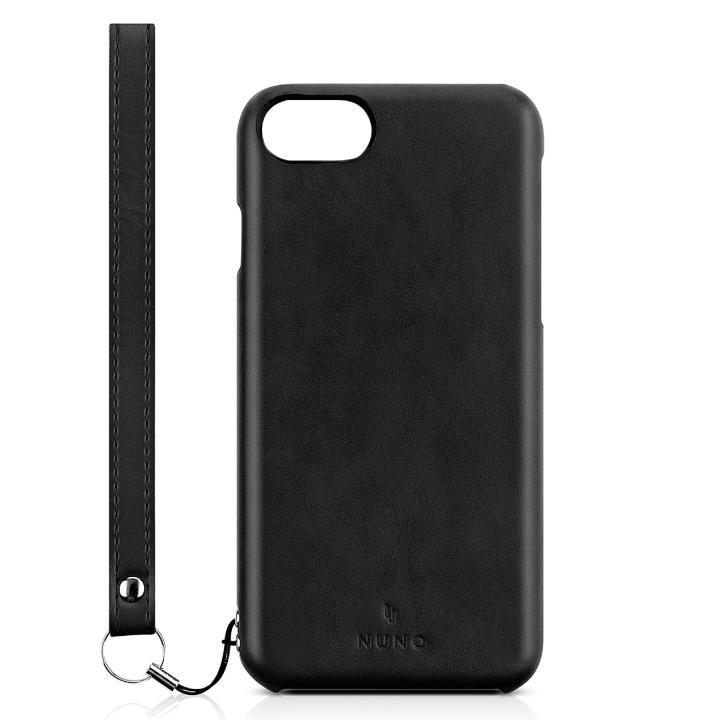 NUNO カードポケット プレミアムスキンケース ブラック iPhone 7