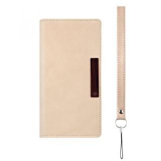 薄型手帳型ケース Journal クリーム Xperia Z5