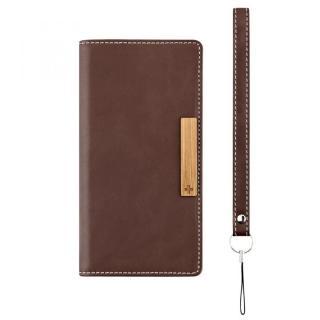 薄型手帳型ケース Journal ブラウン Xperia Z5