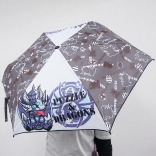 【折りたたみ傘】パズドラ キングメタルドラゴン