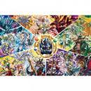 【1000ピース】パズドラ ジグソーパズル 「竜と神の世界」