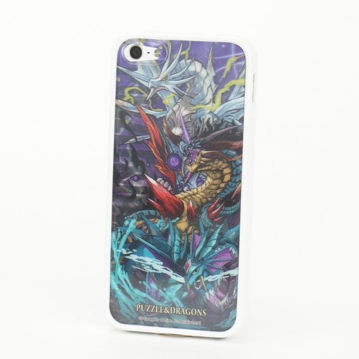 [8月特価]パズドラ ドラゴン_白 Character 3D Jacket  iPhone5 ※シート2枚