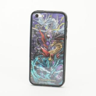 パズドラ ドラゴン 黒 Character 3D Jacket  iPhone5 ※シート2枚