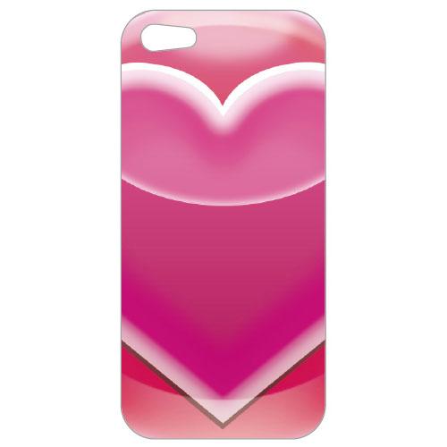 iPhone SE/5s/5 パズドラ スマートフォンケースHG HEART グリーティングカード入り iPhone 5_0