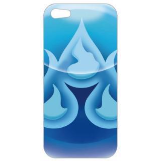 【iPhone5】パズドラ スマートフォンケースHG AQUA グリーティングカード入り