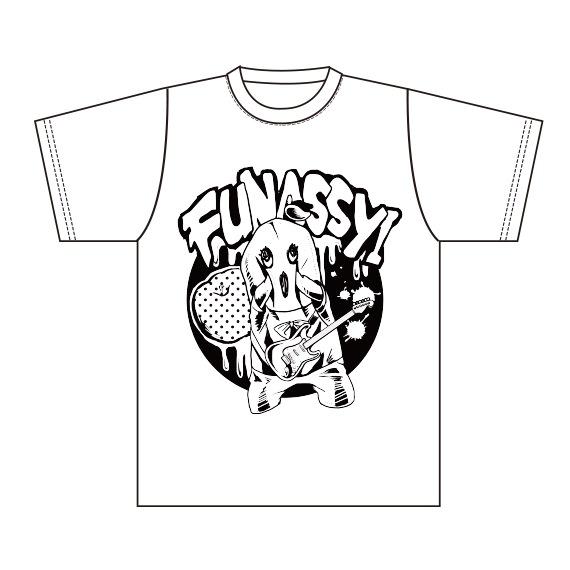 ふなっしー Tシャツ/ホワイトS