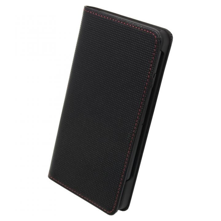 ナイトスクープ7 手帳型レザーケース レッドステッチ iPhone 7