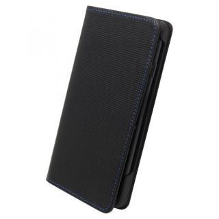 ナイトスクープ7 手帳型レザーケース ブルーステッチ iPhone 7