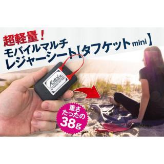 超軽量コンパクト マルチレジャーシート タフケットmini 2人掛け【10月下旬】