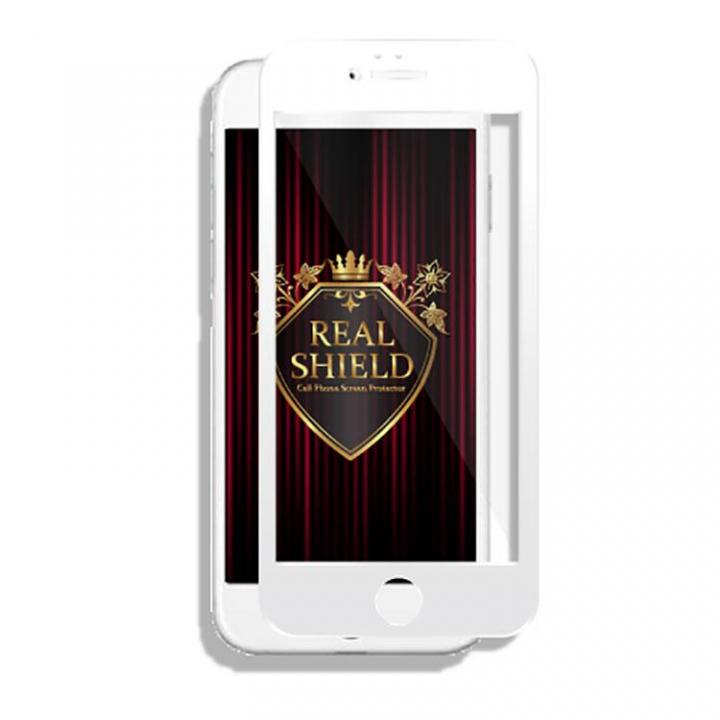 [0.33mm]REAL SHIELD 液晶保護ガラス iPhone 6s Plus/6 Plus ホワイト