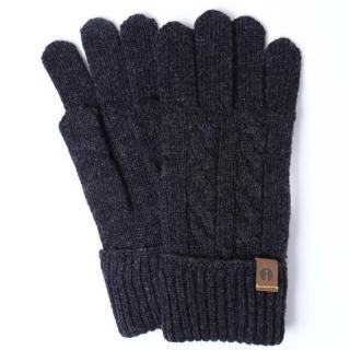 スマホ対応手袋 iTouch Gloves CABLE ダークグレー【12月下旬】