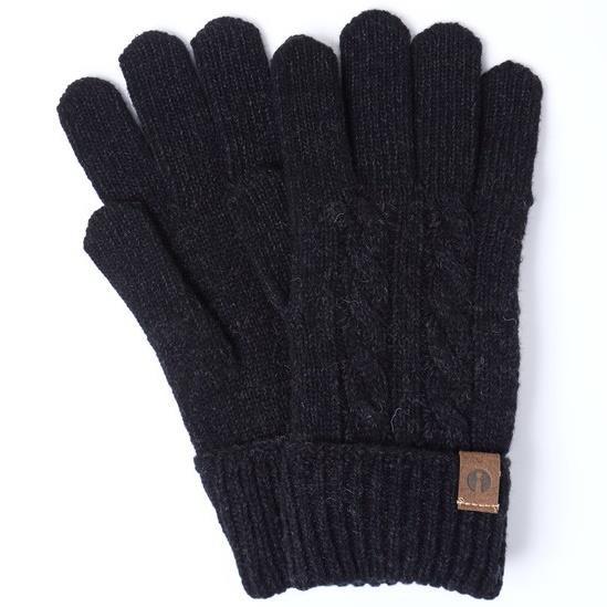 スマホ対応手袋 iTouch Gloves CABLE ブラック_0