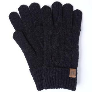 スマホ対応手袋 iTouch Gloves CABLE ブラック