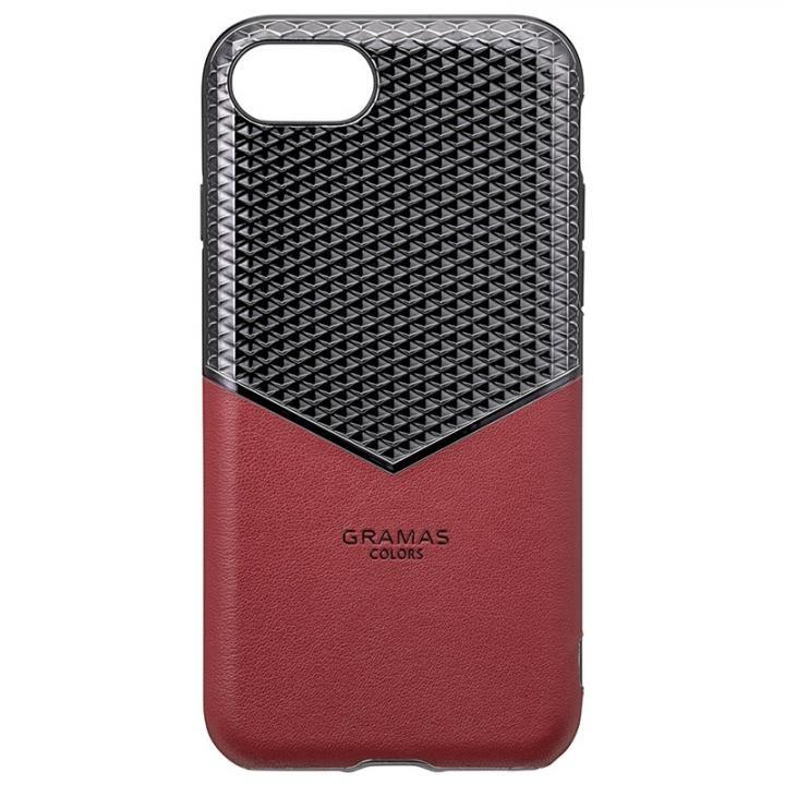 iPhone8/7/6s/6 ケース GRAMAS COLORS Edge Hybrid Shell 背面ケース バーガンディー iPhone 8/7/6s/6_0
