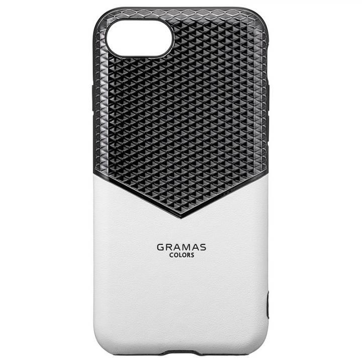 iPhone8/7/6s/6 ケース GRAMAS COLORS Edge Hybrid Shell 背面ケース ホワイト iPhone SE 第2世代/8/7/6s/6_0