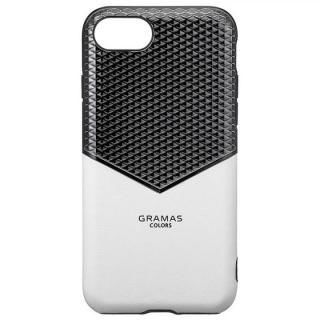 iPhone8/7/6s/6 ケース GRAMAS COLORS Edge Hybrid Shell 背面ケース ホワイト iPhone 8/7/6s/6