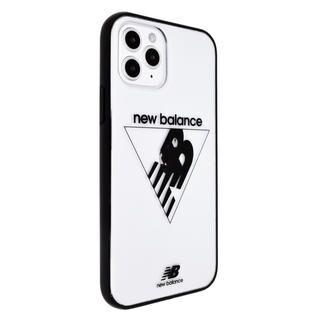 iPhone 12 mini (5.4インチ) ケース New Balance クリアケース/トライアングル/ブラック iPhone 12 mini