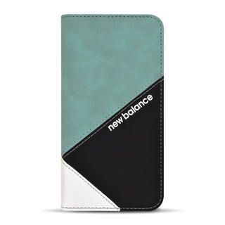 iPhone 12 / iPhone 12 Pro (6.1インチ) ケース New Balance 手帳ケース/スエードMIX/エメラルド iPhone 12/iPhone 12 Pro
