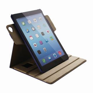 360度回転 ファブリックブルー iPad Air 2ケース