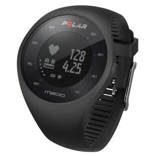 Polar GPSランニングウォッチ M200 ブラック M/Lサイズ【11月上旬】