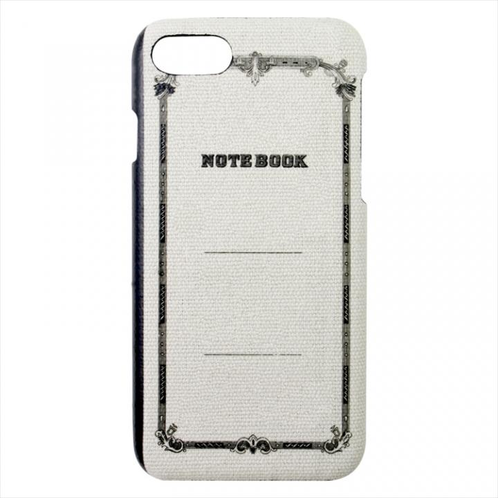 【iPhone7ケース】ツバメノート ジャケットケース グレー iPhone 7_0