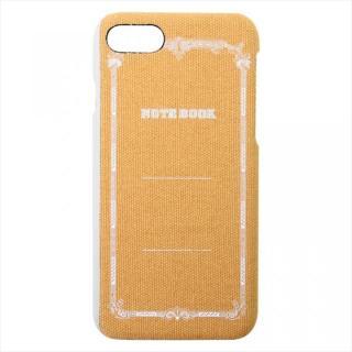 ツバメノート ジャケットケース カラシ iPhone 7