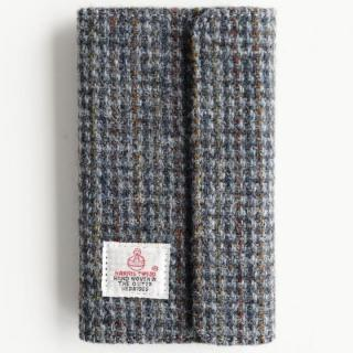 Harris Tweed 手帳型ケース SECURE  ブルーチェック iPhone 6s Plus/6 Plus