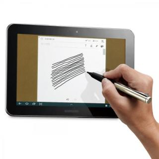 極細タッチペン Acase Active Sense 自己静電発生式 ライトゴールド_2