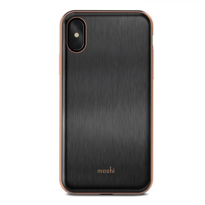 【iPhone Xケース】moshi iGlaze ブラック iPhone X_0