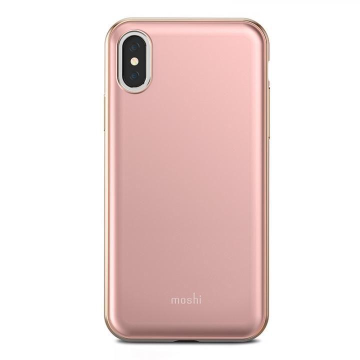 【iPhone Xケース】moshi iGlaze ピンク iPhone X_0
