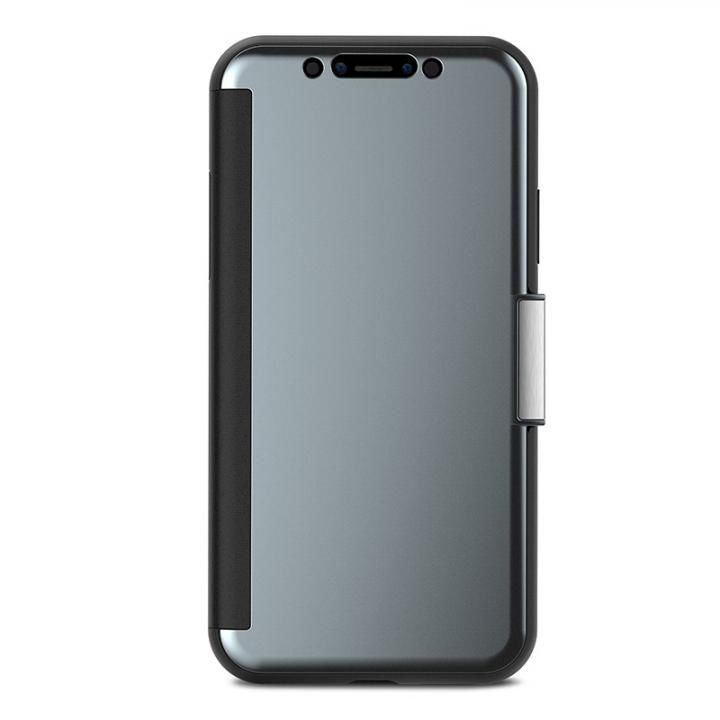 【iPhone Xケース】moshi StealthCover グレイ iPhone X_0