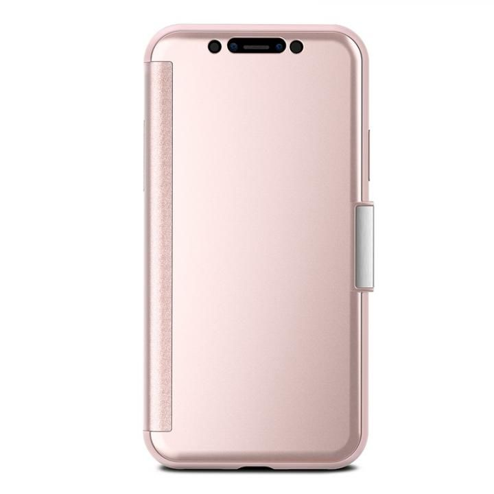 【iPhone Xケース】moshi StealthCover ピンク iPhone X_0