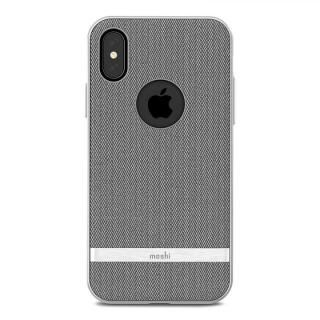 iPhone X ケース moshi Vesta グレイ iPhone X