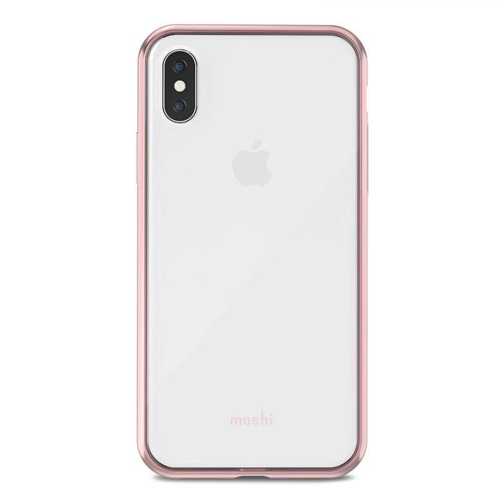 【iPhone Xケース】moshi Vitros ピンク iPhone X_0