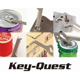 Key-Quest 6 in 1 の鍵型便利ツール Standard【11月上旬】