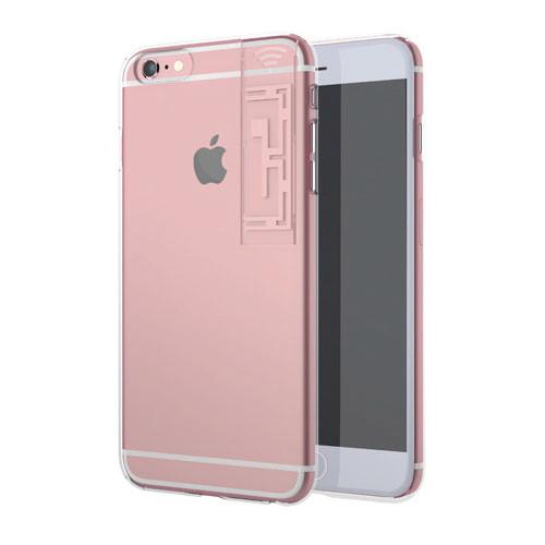 iPhone6s Plus/6 Plus ケース WiFiブースター LINKASE クリア with WiFi ローズゴールド iPhone 6s Plus/6 Plus_0