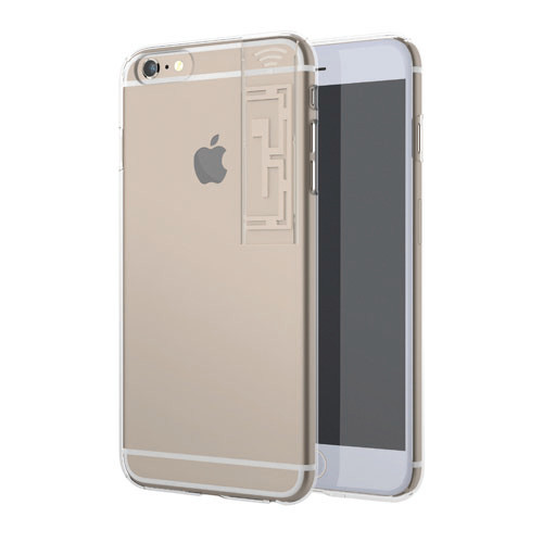 iPhone6s Plus/6 Plus ケース WiFiブースター LINKASE クリア with WiFi ゴールド iPhone 6s Plus/6 Plus_0