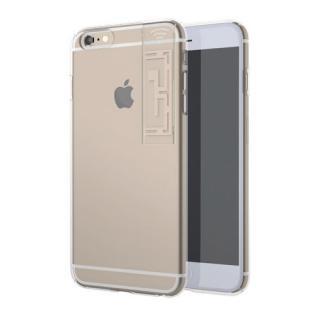 iPhone6s Plus/6 Plus ケース WiFiブースター LINKASE クリア with WiFi ゴールド iPhone 6s Plus/6 Plus