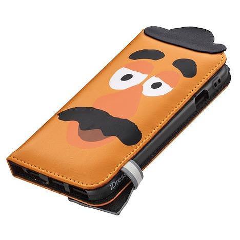 ディズニー ダイカット手帳型ケース ポテトヘッド iPhone 6ケース