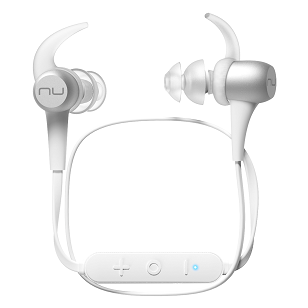 Bluetoothワイヤレスイヤホン NuForce/Optoma BE Sport3 シルバー_0