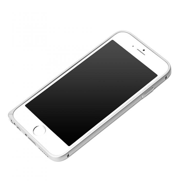 【iPhone6s/6ケース】Premium Style アルミバンパー  シルバー iPhone 6s/6_0