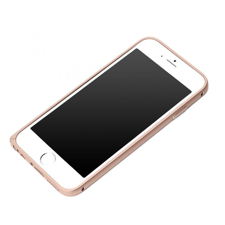 【iPhone6s/6ケース】Premium Style アルミバンパー  ピンクゴールド iPhone 6s/6_0
