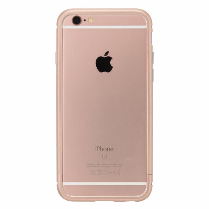 iPhone6s/6 ケース クリスタルアーマー メタルバンパー ローズゴールド iPhone 6s/6_0