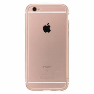 クリスタルアーマー メタルバンパー ローズゴールド iPhone 6s/6【9月下旬】