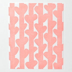 和紙懐紙 ノーズプラント ピンク
