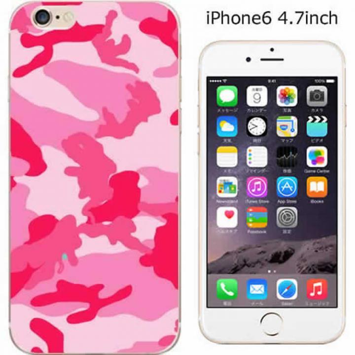 【iPhone6ケース】コーディネートカラーハードケース iglno iglno. 迷彩 ピンク iPhone 6ケース_0