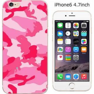 コーディネートカラーハードケース iglno iglno. 迷彩 ピンク iPhone 6ケース