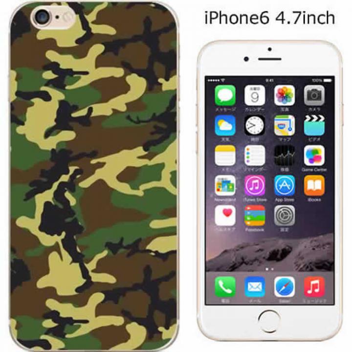 【iPhone6ケース】コーディネートカラーハードケース iglno iglno. 迷彩/カモフラージュ iPhone 6ケース_0