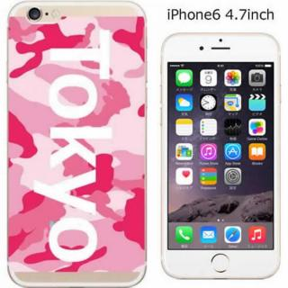 ハードケース iglno iglno. ボックスプリント(Tokyo)/ピンク iPhone 6ケース