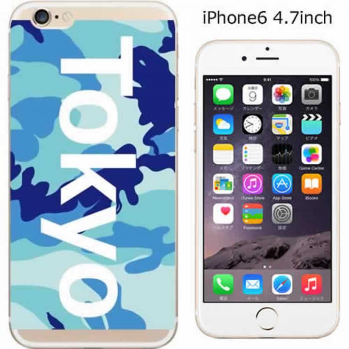 【iPhone6ケース】ハードケース iglno iglno. ボックスプリント(Tokyo)/ブルー iPhone 6ケース_0